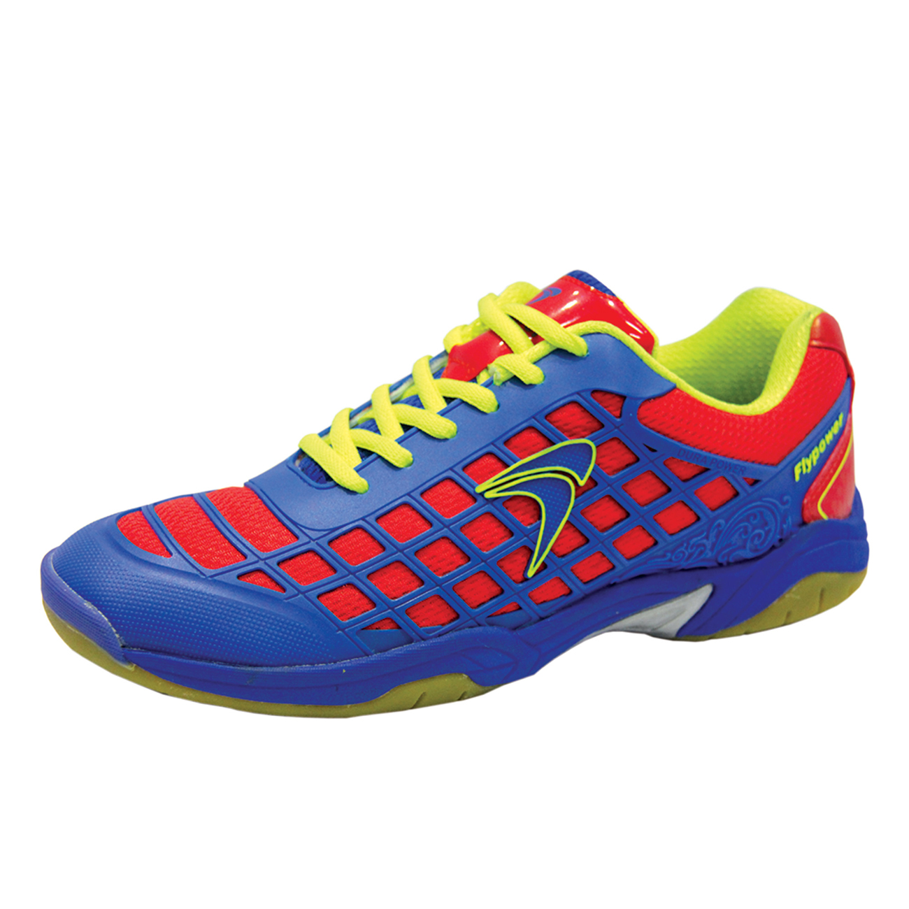 Jual Flypower Dieng Sepatu Badminton - Blue Red Citrus Blue EUR 40 flypower 7fa0c8c847