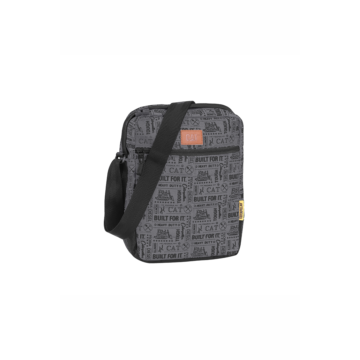 Jual Caterpillar Ryan Tas Selempang Pria - BFI Black Grey Caterpillar Bags    Luggage 173664ac79