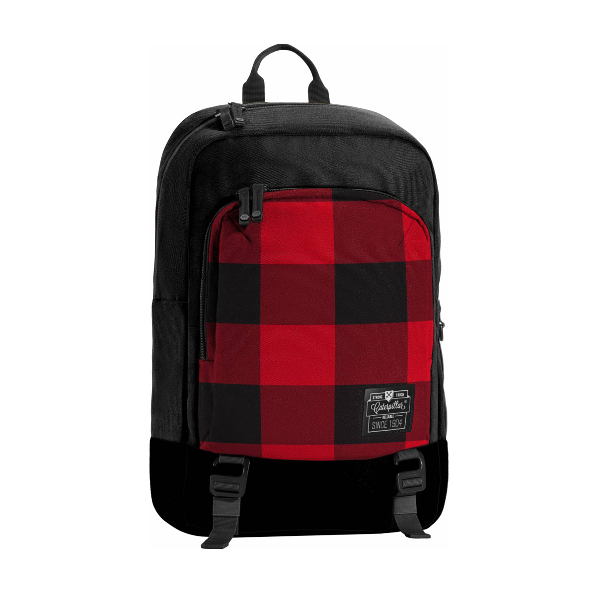 Jual Caterpillar Milling Red Checkers Bags Luggage Sarung Helm Anti Air