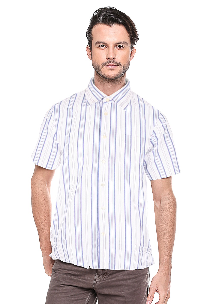 Jual Johnwin Regular Fit Kemeja Formal Garis Variasi White L Slim Lengan Panjang Abu Lgsgeneration
