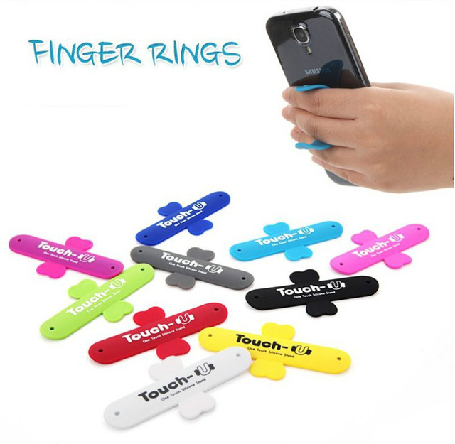 Jual Tokomuda Touch U Silicone Mini Holder Phone Stand Universal For All Mobile phone Tablet Random Color Tokomuda