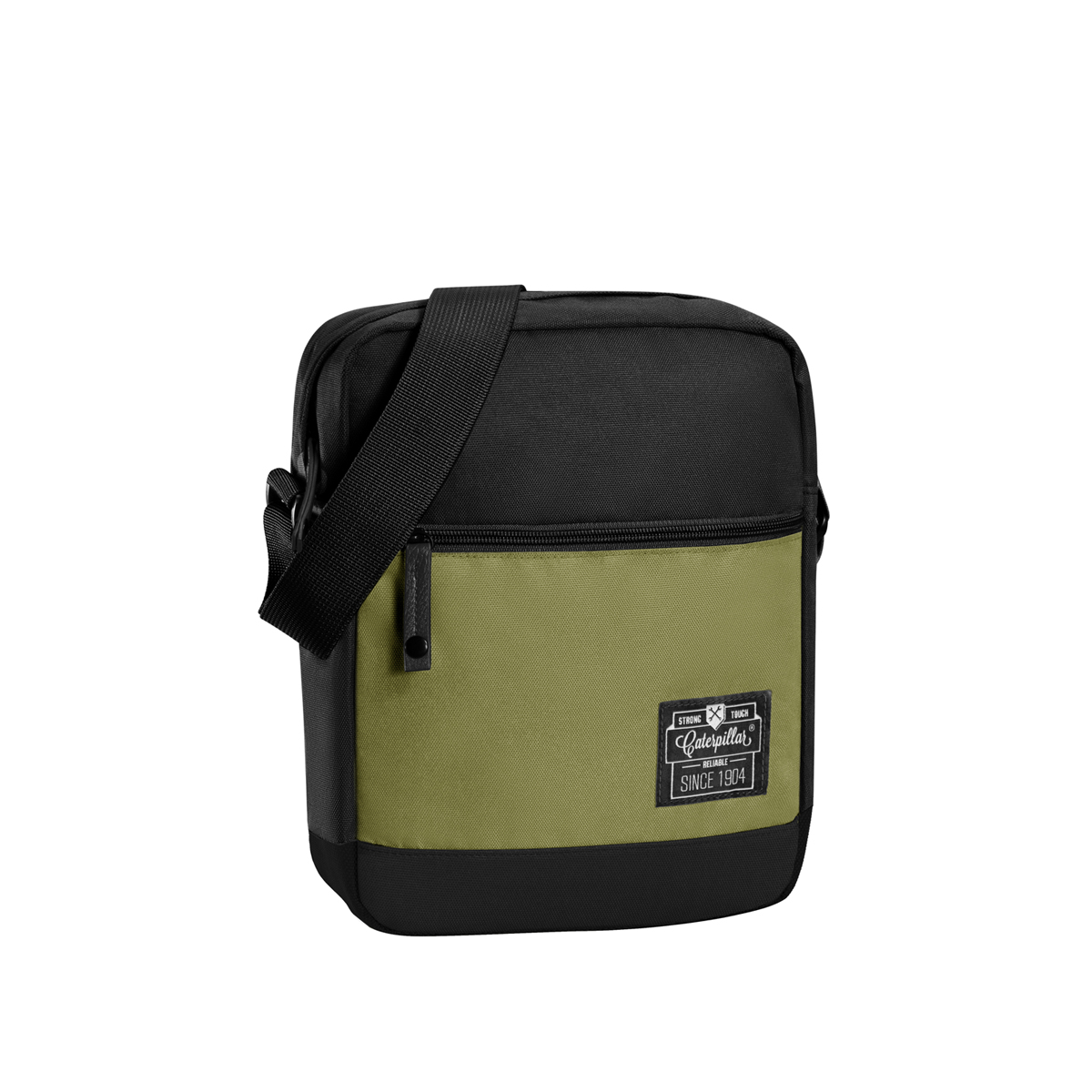 Jual Caterpillar Hauling Tas Selempang Pria - Black Fishbone Green  Caterpillar Bags   Luggage dbb596b611