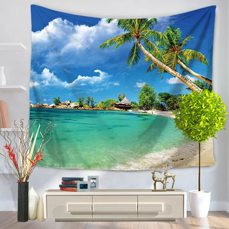 Handicrafts Wall Hanging Tapestry Cotton Wool Tassel Ethnic Wall Decor GT1031 Multicolour GT1031