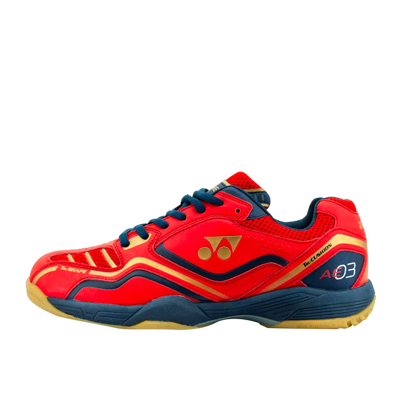 Jual YONEX All England 03 - Bright Red Dark Violet Matte Gold  JPN 24.5cm   JD.id 94f6be4896