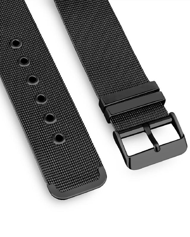 LOLLYPOP Milanese Buckle for Apple Watch 38mm Series 1 2 3 Black All Size