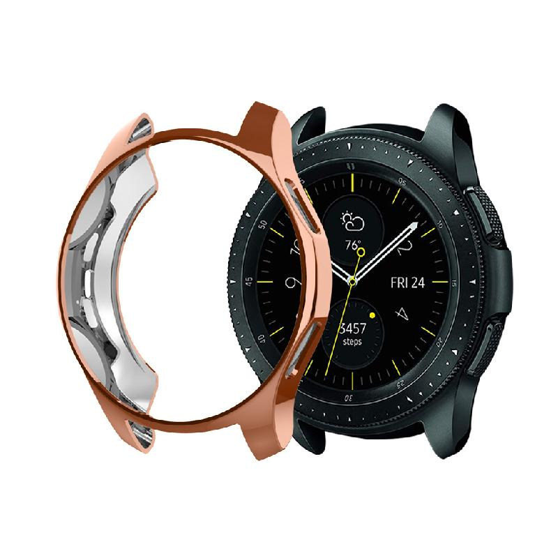 Ultra-thin TPU Plating Protection Case Cover For Samsung Galaxy Watch 42mm Ready stock