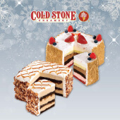 Cold Stone - 8 Layer Ice Cream Cake