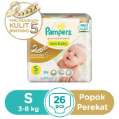 PAMPERS Popok Premium Care Tape S-26