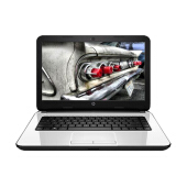 "HP 14-R203TU K8U37PA 14""/N2840/2G/500G Notebook  - Silver - 1 Yr Official Warranty"