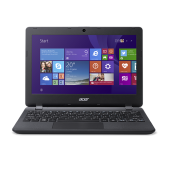 "ACER New Aspire ES1-131 11.6""/Celeron N3050/2GB/500GB/Intel HD Graphics/Linpus Notebook - Diamond Black - 3 Yr Official Warrant"