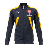 PUMA AFC Stadium Jacket - Black/Yellow