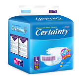 CERTAINTY Tape Regular Pack Size L 10pcs/bag
