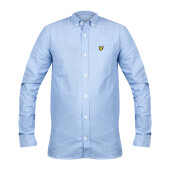 LYLE & SCOTT Chambray Shirt  - Blue