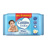 CUSSONS BABY Wipes Mild & Gentle 50