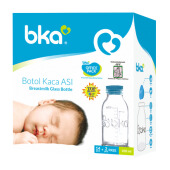 BKA Office Pack Breastmilk Glass Bottle 14+2