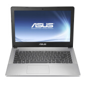 "ASUS X455LA-WX376T 14""/i3-4005U/4GB/500GB/Win10 Notebook - Black"