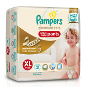 PAMPERS Popok Premium Care Pants XL-21