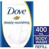 DOVE Body Wash Deeply Nourishing Refill 400ml