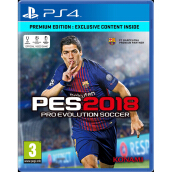 SONY PS4 Game - Pro Evolution Soccer 2018 Premium Edition