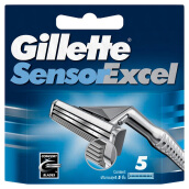 GILLETTE Sensor Excel Cartridge 5pcs