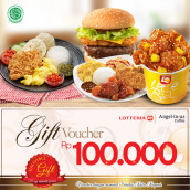 Lotteria Voucher Value Rp 100.000