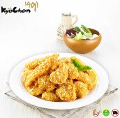 Kyochon Salsal Boneless Chicken strips size S (4 Pcs)