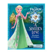 Disney Frozen: A Sisters Love: Storybook & Necklace Import Book - Lori C Froeb - 9780794435745