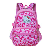 Hui Tong casual Korean version 2018 new children hellokitty girl backpack