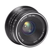 7artisan Lensa 25mm f1.8 for Sony E Mount Black