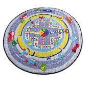 Jantens Kids Carpet Rugs Children Play Mat Crawling Puzzle Mat with Storage Bag Kids Toys