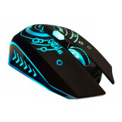 ALCATROZ X-Craft V666 Gaming Mouse - Black