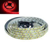 JMS - 1 Pcs DRL LED Strip Lamp 300 SMD 2835 (5 Meter) Ribbon Flexible Lights - Red