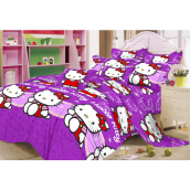 NYENYAK Hello Kitty Fitted Sheet - KING/SINGLE