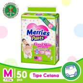 MERRIES Popok Pants Good Skin M 50