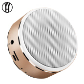 WH A8 Outdoor Metal Card Stereo Subwoofer Mini Wireless Bluetooth Speaker for xiaomi samsung iphone huawei