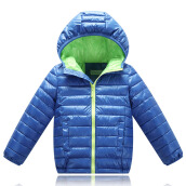 Anamode Boys Girls Winter Coat Duck Down Jacket Children Feather Coat With Hooded -