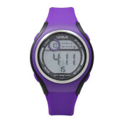 LORUS Jam Tangan - Purple Black - Silicon - R2383LX9