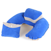 BANGLONG Air Pillow Inflatable Headrest Travel Plane U Shape Cushion Foldable Pillow -One Size -
