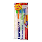 CIPTADENT Toothbrush Classic Double Action Soft 3pack