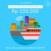 Iziroam Voucher Value Rp 200.000