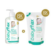 BABYMAX Paket Premium Natural Baby-safe Bottle and Utensils Cleaner