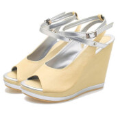 SANDAL HIGH HEELS / WEDGES KASUAL WANITA - BSP 156