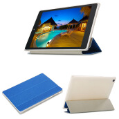 Teclast M89 7.9 inch tablet pc pu leather case  blue