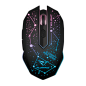 ALCATROZ X-Craft Pro Twilight 2000 7 Colors Pulsating LED Mouse