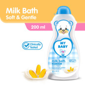 MY BABY Milk Bath 200 ml - Soft & Gentle
