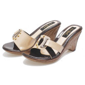 SANDAL HIGH HEELS / WEDGES KASUAL WANITA - BSP 135
