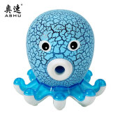 AS105 Mini Cute Desktop Speaker Innovative Octopus Shaped Stereo Speaker Portable Loudspeaker Music Player With Colorful Light