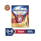 NUTRIBABY Royal 1 Susu Formula Soya Box - 350gr