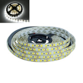 JMS - 1 Pcs DRL LED Strip Lamp 300 SMD 2835 (5 Meter) Ribbon Flexible Lights - White