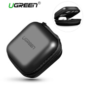 UGREEN Headphone Case Bag Portable Earphone Case Earbuds Hard Box (Black) Send from China, 7-15 Work Days!